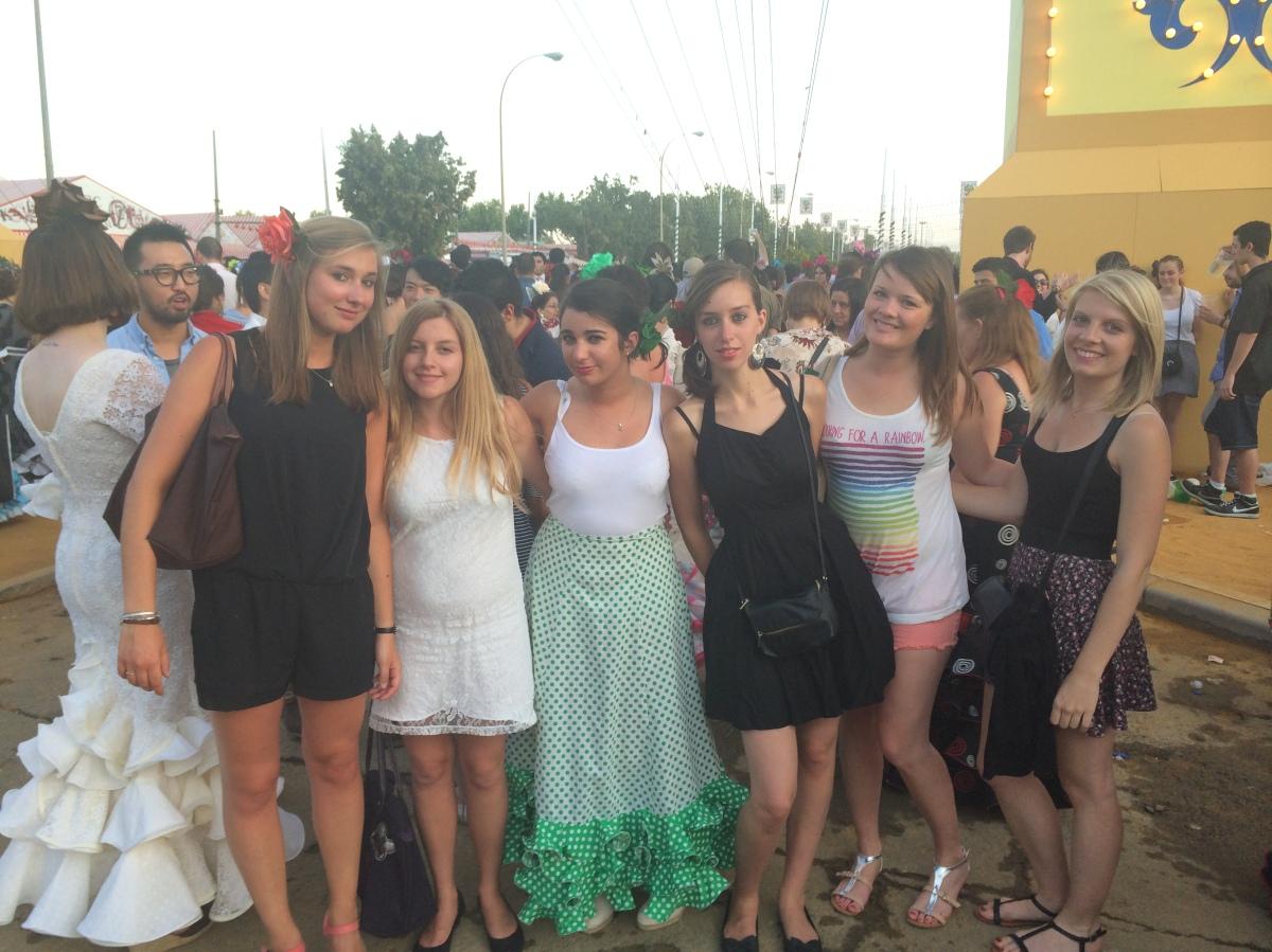 Chloé en semestre Erasmus à Séville